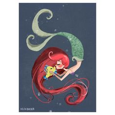 under the sea i'm in a little disney-mode at the moment which one next #littlemermaid #ariel #arielle #disney