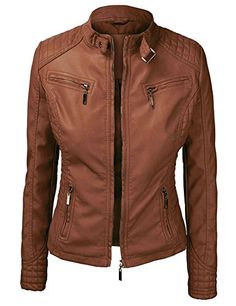 LL Womens Quilted Biker Jacket -- Check out @ http://www.passion-4fashion.com/clothing/ll-womens-quilted-biker-jacket/?ef=140716021422