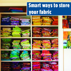 No matter what your definition of organization, here are some tips for sorting and storing your fabric stash. Quilting Tips, Quilting Fabric, Quilting Patterns, Sewing Tips, Sewing Hacks, Sewing Crafts, Storage Organization, Organizing, All People Quilt