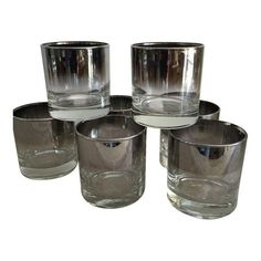 Midcentury Highball Glasses, S/6 | Glasses and Products