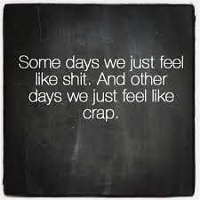And some days we feel like jumping off of a bridge.