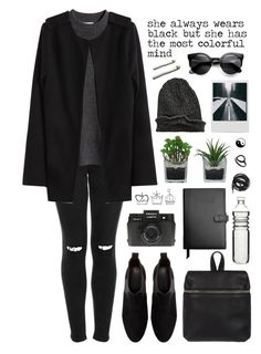 """""""colorful mind"""" by just-nothing ❤ liked on Polyvore featuring Topshop, H&M, Zara, Threshold, Urbanears, Kara, Holga, Royce Leather, Dot & Bo and Monki"""