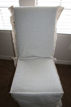 Ordinaire Making Your Own Parson Chair Slipcovers Is Easy! Easier Than You Think, And  I