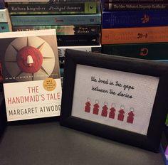 The Handmaid's Tale Cross Stitch