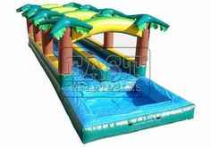 What benefit do you get from Hawaiian Slip And Slide Double Lane W Pool? We produce cheap giant airblown Hawaiian Slip And Slide for sale, UK Inflatable Slide kids air blown inflatables fun home. Bouncy Castle For Sale, Water Slide Rentals, Hawaian Party, Slip N Slide, Bouncy House, Inflatable Slide, Water Slides, Outdoor Fun, Games For Kids
