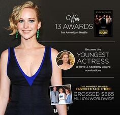 Jennifer Lawrence ranked #1 on @POPSUGAR's 'Top 100 Celebs of the Year' list http://the-jlawrence.livejournal.com/848848.html