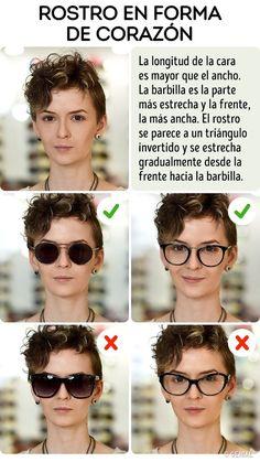 Las Mejores 10 Ideas De Gafas Según Forma De La Cara Gafas Según Forma De La Cara Tipos De Cara Tipos De Lentes