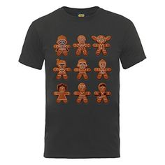 Official Star Wars Christmas Gingerbread Characters, Men's T-Shirt Star Wars http://www.amazon.co.uk/dp/B00Q8YX23O/ref=cm_sw_r_pi_dp_INMpwb1JD3W21