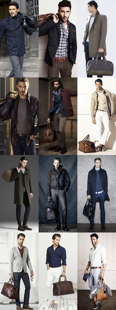 How To Dress For Casual Travel in Autumn/Winter, The Holdall Lookbook Inspiration