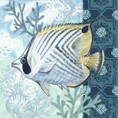 Shop for Portfolio Canvas Decor Elena Vladykina 'Tropical Fish Framed Canvas Wall Art (Set of Get free delivery On EVERYTHING* Overstock - Your Online Art Gallery Store! Sea Illustration, Illustrations, Canvas Frame, Canvas Wall Art, Nautical Art, Sea Theme, Coastal Art, Fish Art, Wall Art Sets
