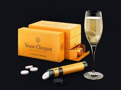 #VeuveClicquot soluble #Champagne tablets