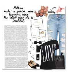 """Beautiful you !!!!!!"" by nemesisktn ❤ liked on Polyvore featuring Genetic Denim, Kara, Accessorize, Jennifer Zeuner, Monsoon, Sydney Evan, Elizabeth Arden, Bobbi Brown Cosmetics and Givenchy"
