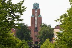 lahti - town hall - Eliel Saarinen Finland Culture, Art Nouveau, Art Deco, Eero Saarinen, Romanticism, Town Hall, Urban, Explore, City