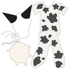 Make a Cow Costume