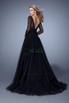 Jlm Couture robe noire dos