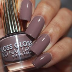 DIVINITY NOW! 👼🏼👼🏼👼🏼 Floss Gloss New Flawless Staple! Straight up, heaven sent! Tauped by an Angel is this season's must-have neutral. Grace your nails with this angelic taupe. Get Tauped by an Angel asap Fall 2017 7 Free Wedding Nail Polish, New Nail Polish, Nail Polish Designs, Nail Polish Colors, Nail Designs, Taupe Nails, Neutral Nails, Neutral Wedding Nails, Dark Nude Nails