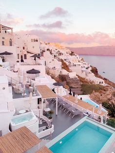 Santorini Travel Guide | Katie's Bliss Most Beautiful Greek Island, Beautiful Places In The World, Beautiful Places To Visit, Cool Places To Visit, Amazing Places, Top Greek Islands, Greek Islands Vacation, Greek Islands To Visit, Santorini Travel