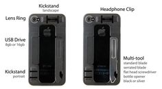 ReadyCase | Indiegogo - A Swiss Army case for the Swiss Army iPhone