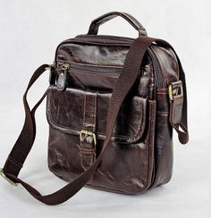 1ST New Vintage Handmade Leather Men's Chocolate « Clothing Impulse