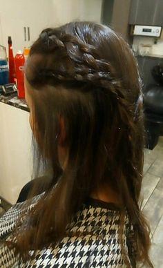 Braids and Curls Braids With Curls, Dreadlocks, Hair Styles, Beauty, Hair Plait Styles, Hair Makeup, Hairdos, Haircut Styles, Dreads