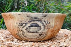 Heavenly Honey Locust Wood Bowl by oneofakind2woodbowls on Etsy