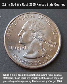 8 Rare coins that might be hiding in your change. cool-rare-coins-misspell-quarter