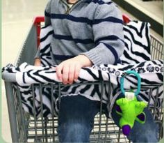 Free Baby Shopping Cart Cover Pattern. When it comes to baby sewing patterns, you want to make sure they're soft and sanitary for your little one. This free baby shopping cart cover pattern will help keep baby entertained while you shop. You can even attach toys to the cart.