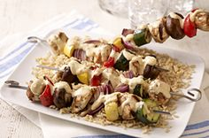 Santa Fe Grilled Chicken Kabobs
