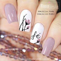 Perfect Nails, Gorgeous Nails, Pretty Nails, Hot Nails, Hair And Nails, Maybelline Nail Polish, Sqaure Nails, Floral Nail Art, Luxury Nails