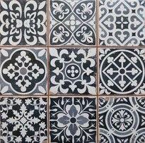 Chancel Black Moroccan Ceramic tiles