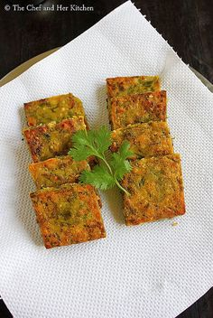 Kothimbir Vadi is basically fritters made up of Coriander leaves using besan(chickpea flour). Jain Recipes, Veg Recipes, Indian Food Recipes, Vegetarian Recipes, Snack Recipes, Cooking Recipes, Recipies, Bread Recipes, Indian Appetizers