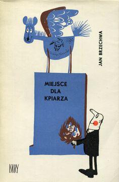 """""""Miejsce dla kpiarza"""" Jan Brzechwa Cover by Mirosław 1967 Pokora Book series Biblioteka Stańczyka Published by Wydawnictwo Iskry 1967"""