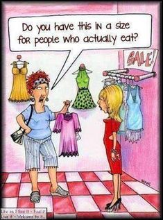 LOL - funny cartoon joke for women. For more funny pics and hilarious humor visit www. Funny Shit, Haha Funny, Funny Stuff, Funny Humor, That's Hilarious, Funny Ads, Cartoon Jokes, Funny Cartoons, Comic Foto