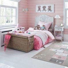 Decoracion Hogar - Comunidad - Google+ Cool Kids Bedrooms, Kids Bedroom Designs, Pink Bedrooms, Girls Bedroom, Childrens Beds, Little Girl Rooms, Baby Decor, Beautiful Bedrooms, Kids Room