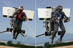 World's First Civilian JETPACK! Watch out, Superman!