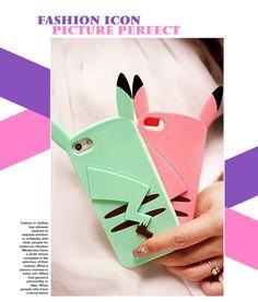 cute cheap iphone 6 6s cases, 3d cartoon iphone 5s case