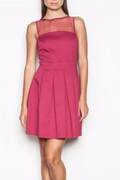 Martini pink cocktail dress