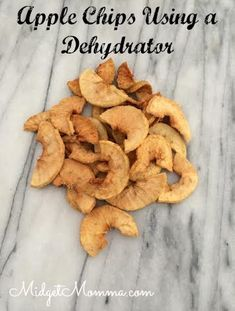 Easy to make apple chips using a dehydrator. A great healthy snack that kids and adults will love. Using fresh apples to make these apple chips you can also get the kids involved in making this healthy snack