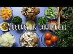 Moqueca de Cogumelos & Banana Assada com Farofa de Castanhas - YouTube