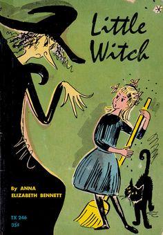 Little Witch by Anna Elizabeth Bennett, illustrated by Lisl Weil