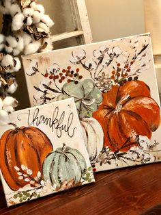 Arts And Crafts Gift Basket - - Fall Crafts Halloween - - Fall Canvas Painting, Autumn Painting, Autumn Art, Canvas Art, Pumpkin Painting, Fall Paintings, Canvas Crafts, Pumpkin Art, Pumpkin Quotes