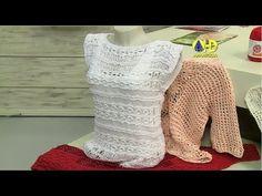 Vida com Arte   Blusa charme em tricô por Cláudia Maria - 29 de Janeiro ...