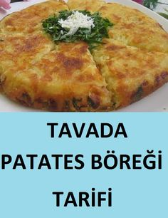 Potatoes will be prepared in a very practical way in the pan without using oven Cheesecake Recipes Videolu Tarif Best Cake Recipes, Pizza Recipes, Cheesecake Recipes, Cooking Recipes, Potato Rolls Recipe, Turkish Recipes, Ethnic Recipes, Garlic Butter Chicken, Good Food