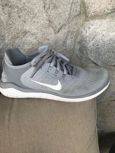 9eecdd012af women s nike free rn 2018 size 10.5 wolf Grey White White-Volt  fashion   clothing  shoes  accessories  womensshoes  athleticshoes (ebay link)   ...