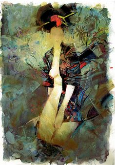 Sienkiewicz-Charity auction piece for CAF Comic Art