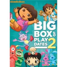 Nickelodeon Favorites Big Box of Play Dates Vol 2