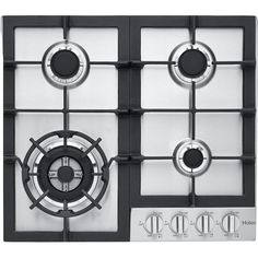"""22.81"""" Gas Cooktop with 4 Burners"""