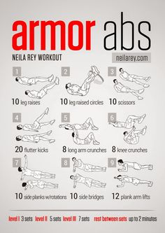 Amor Abs Workout