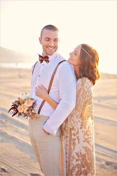 classy casual groomsman look #groom #casualgroomlook #weddingchicks http://www.weddingchicks.com/2014/04/04/sun-kissed-romantic-wedding/