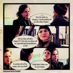 OUAT Swan Queen Comic. Hahahahahahaha!!!